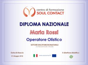 Operatore olistico - Centro di Formazione Soul Contact